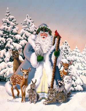 Santa's Woodland Friends