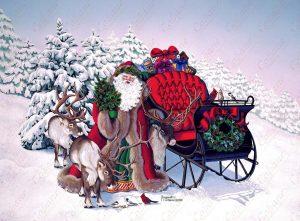 Santa's Jolly Sleigh