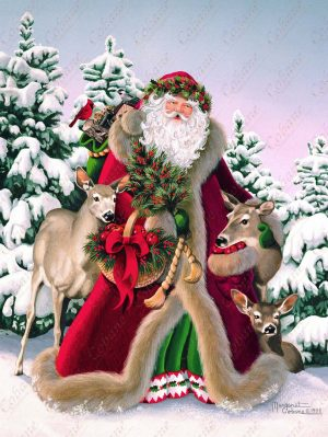 Woodland Father Christmas