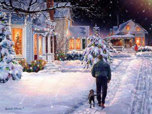 Christmas Eve Walk